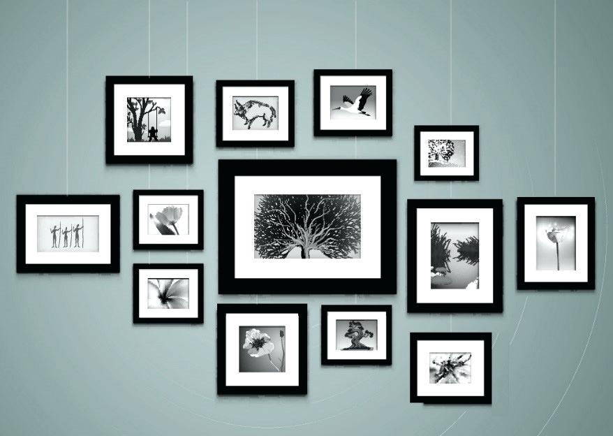 How To Hang Frames Without Nails Clever Design Hang Pictures On Wall ...